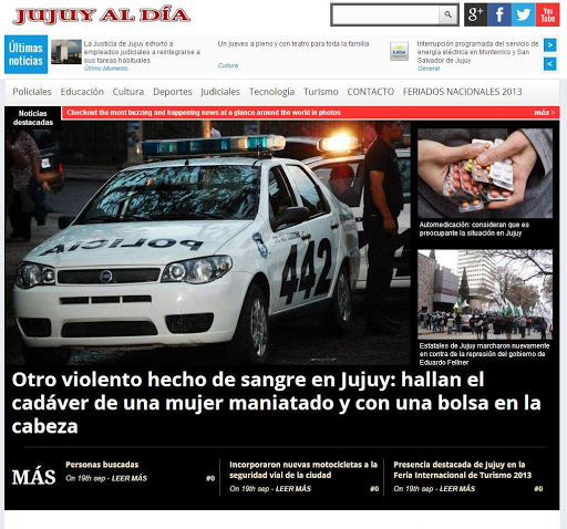 Jujuy al día - Diario Digital