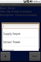 Screenshot of Build Order Buddy Pro
