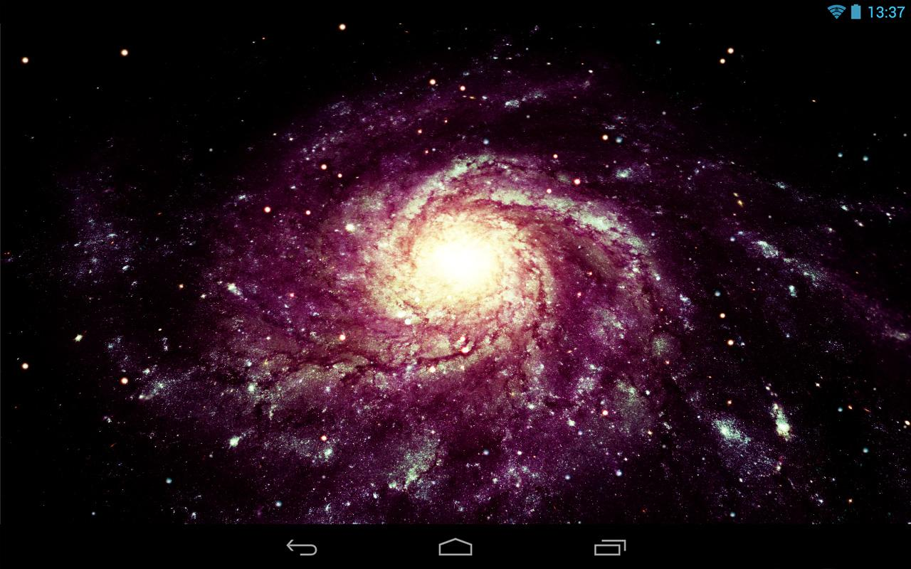 Furious Galaxy Pro Wallpaper - screenshot