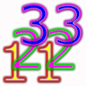 Numbers 1 to 100 Free icon