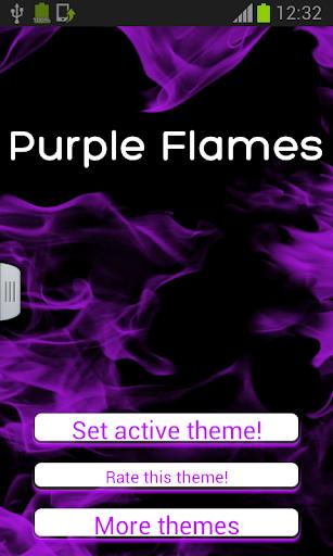 紫色火焰鍵盤