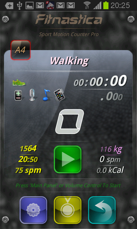 Fitnastica Exercise Counter - screenshot