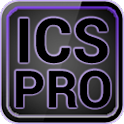ICS Pro PURPLE GO Theme+ logo