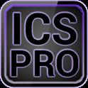 ICS Pro PURPLE GO Theme+ logo
