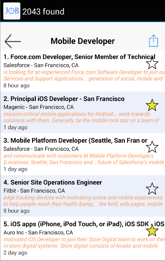 resume and salesforce