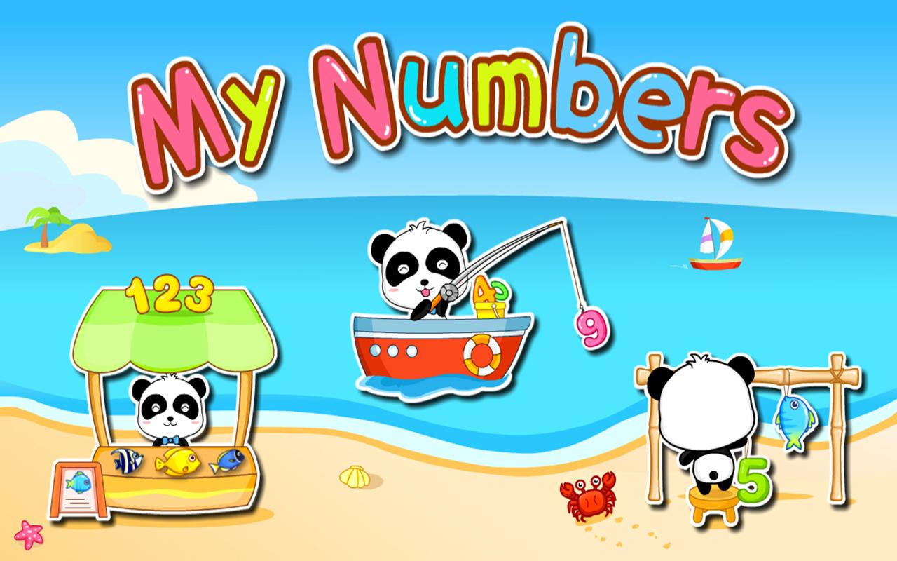 My Numbers by BabyBus - screenshot