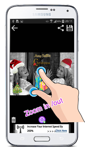 Christmas Sticker Photo