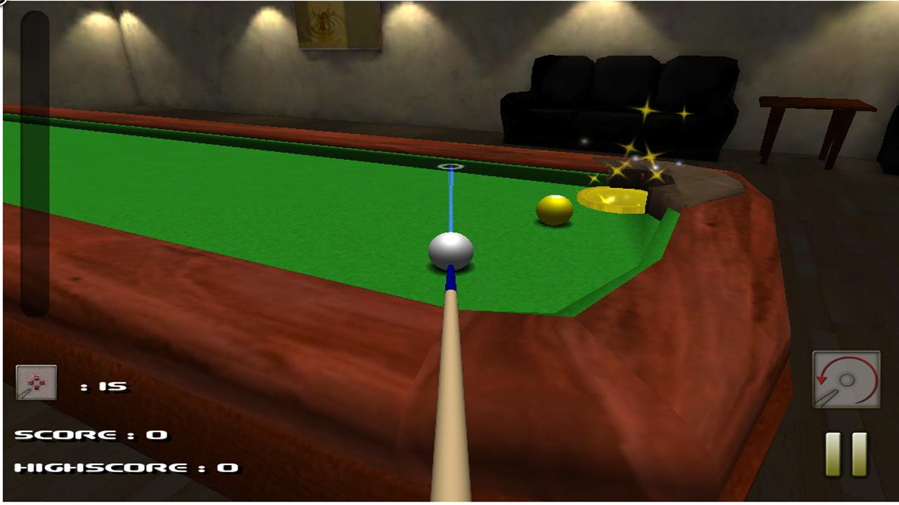 Super Billiard - screenshot