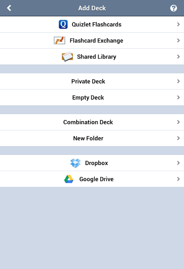 Flashcards Deluxe Lite- screenshot