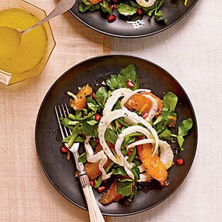Fennel, Blood Orange, and Watercress Salad