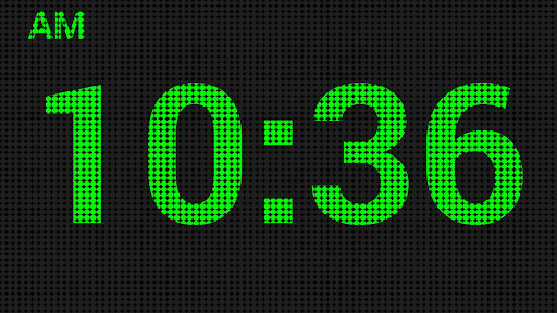 LED數字時鐘