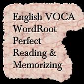 English etymology wordlist