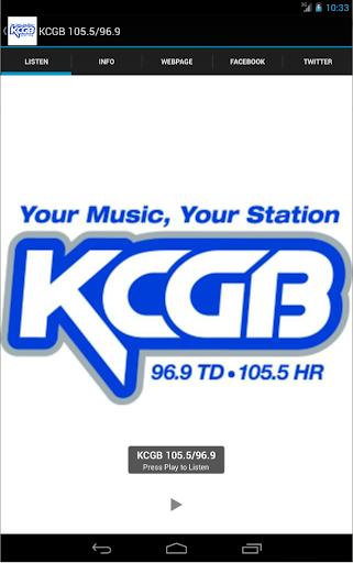 KCGB 105.5 96.9