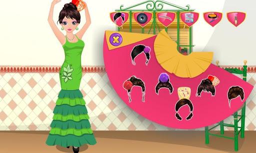 西班牙舞者溫泉沙龍遊戲