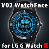 V02 WATCHFACE FOR LG G WATCH R