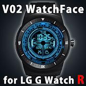V02 WATCHFACE FOR LG G WATCH R