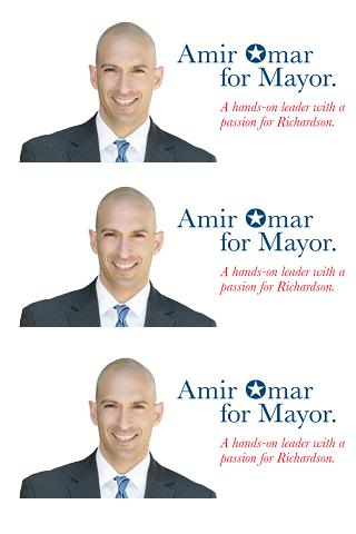 Amir Omar for Mayor