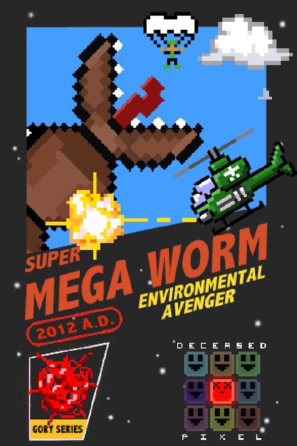 Super Mega Worm - screenshot