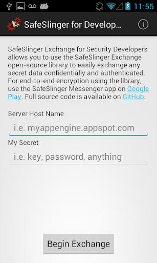 SafeSlinger Exchange Developer