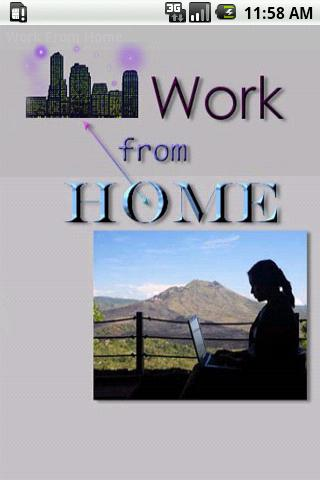 Work From Home - screenshot