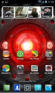 360 Launcher Blur Theme
