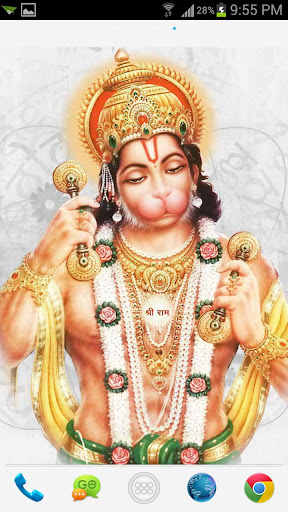 New Lord Hanuman HD Live Wall