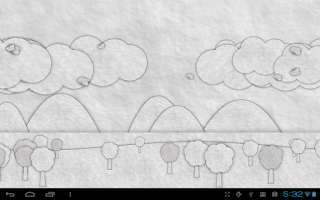 Screenshot of Paperland Live Wallpaper