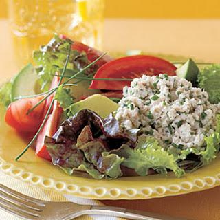 Crab Salad with Avocado and Tomato.