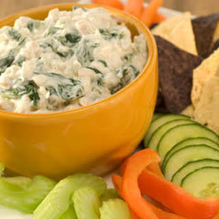 Creamy Spinach & Hearts Of Palm Dip.