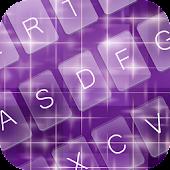 App Purple Charm Keyboard Theme APK for Windows Phone
