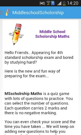 【免費教育App】MSScholarship Maths-APP點子