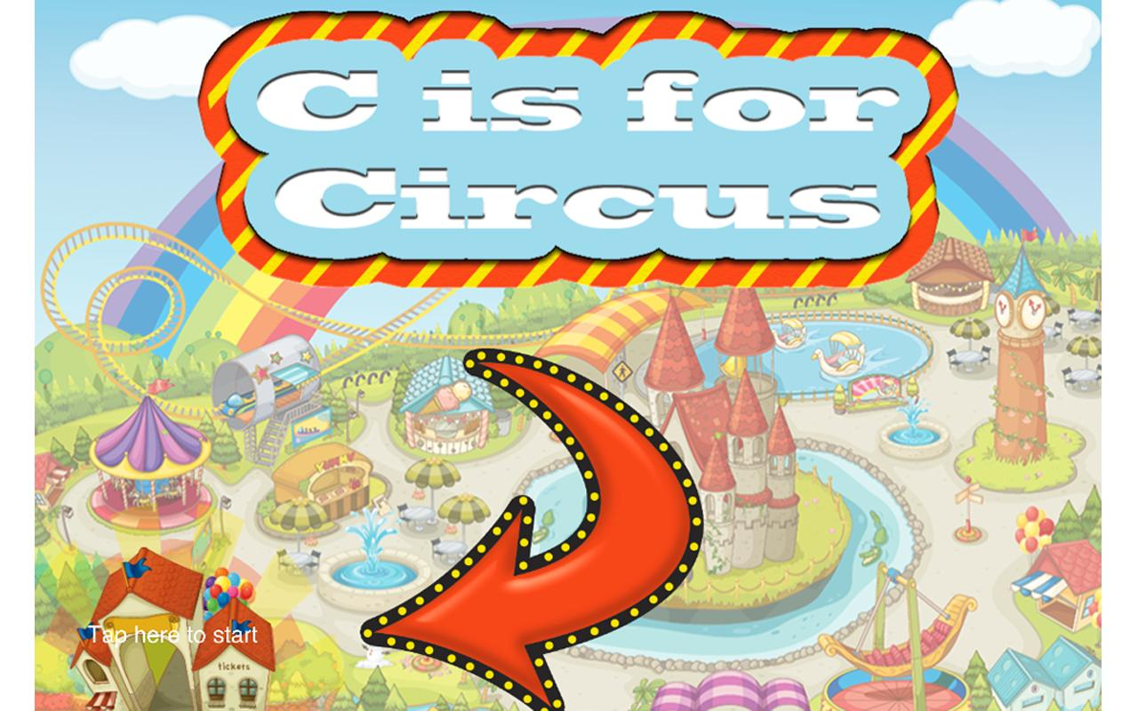 Kids ABC Learning c for Circus - screenshot