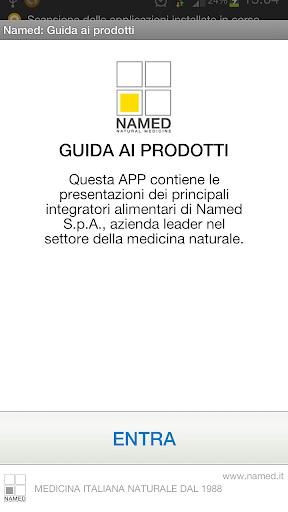 Named: Guida ai prodotti