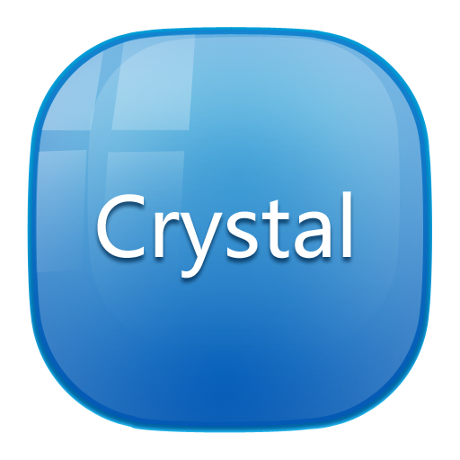 Crystal_Turbo EX Theme 個人化 App LOGO-APP試玩