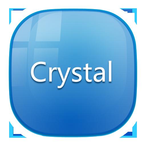 Crystal_Turbo EX Theme 個人化 App LOGO-APP試玩