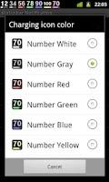 Screenshot of Battery Widget Icon Pack 4