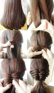 Hairstyles (Step by Step) screenshot 6