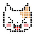 Pixel art Painter icon