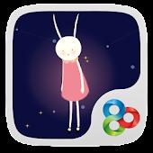 Lulu Rabbit GO Launcher Theme
