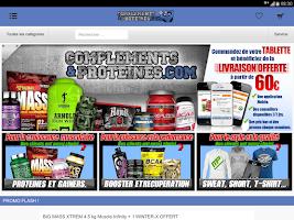 Screenshot of COMPLEMENTS ET PROTEINES