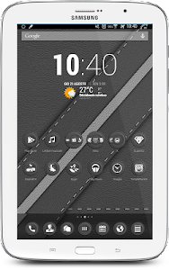 Leather Grey Theme v1.1.0