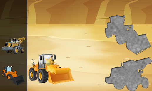 Digger Puzzles for Toddlers- screenshot thumbnail