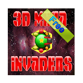 3D Mega Invaders in space Free