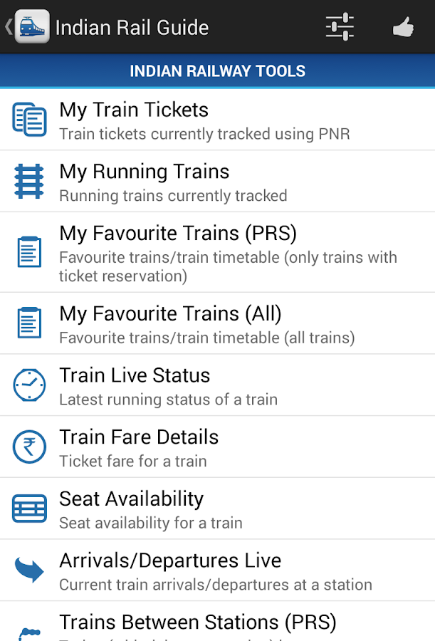 Track or Spot Your Train Online