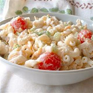 Macaroni and Cheese Salad.