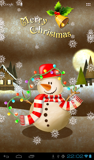 FGG Snowman Wallpaper