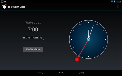 NFC Alarm Clock- screenshot thumbnail