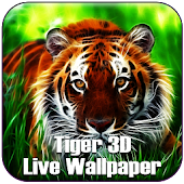 Tiger 3D Cube Live Wallpaper