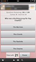 Screenshot of R&B Music Trivia