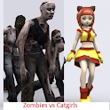 Zombies vs Catgirls Preview logo